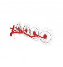 Грабли минитракторные колесно-пальцевые Корунд «Солнышко» на 4 колеса