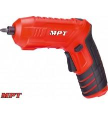 Аккумуляторная отвертка MPT MCSD4006.1 (10 насадок)