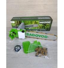 Насадка пила Sadovod на болгарку (фонарик и мультитул в подарок)