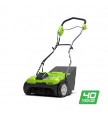 Аэратор акумуляторний Greenworks G40DT30