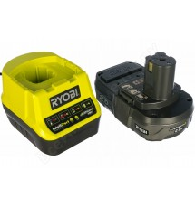 Зарядное устройство Ryobi RC18120-120 + аккумулятор 18В, 2,0 А/ч