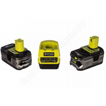 Зарядное устройство Ryobi RC18120-240 + аккумулятора 18В, 4,0 А/ч