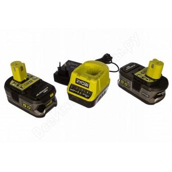 Зарядное устройство Ryobi RC18120-250 + аккумулятора 18В, 5,0 А/ч