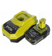 Зарядное устройство Ryobi RBC18L15 + аккумулятор 18В, 1,5 А/ч