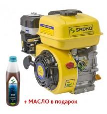 Двигатель бензиновый Sadko GE-200 PRO шлицевой вал
