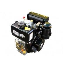 Дизельный двигатель Bizon 178FE шлицевой выход Ф25