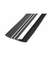 Привальный брус Borika 16.03 90мм 1м двухцветный трехполосный с отбойником