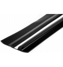 Привальный брус Borika 18.02 90мм 1м двухцветный двухполосный с отбойником