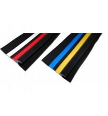 Привальный брус Borika 18.03 80мм 1м трехцветный двухполосный с отбойником