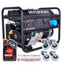 Бензиновый генератор Hyundai HHY-7010FE