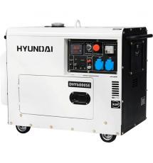 Дизельный генератор Hyundai DHY-8000SE-3