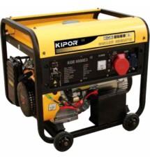 Бензиновый генератор KAMA KGE6500E3
