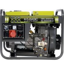 Генератор дизельный Konner&Sohnen Basic KS 8000 DE-3