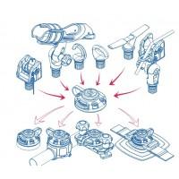 Наборы для модернизации лодок (универсальная крепежная система Fasten)