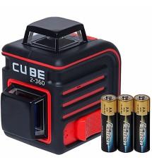 Лазерный линейный нивелир ADA Cube 2-360 Basic Edition A00447