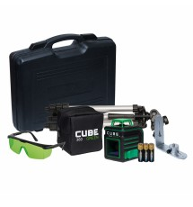 Лазерный линейный нивелир ADA Cube 360 Ultimate Edition Green Laser A00470