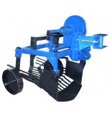 Картофелекопатель механизированный Агромарка КМ-3 (привод-ВОМ, кардан) c ходоуменьшителем шестеренчатым