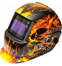 Сварочная маска хамелеон Титан S777 (молния-пламя)