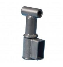 Сцепные узлы ВЗд-8 прицепа без дышла под втулку мотоблока с воздушным охлаждением Zirka-105