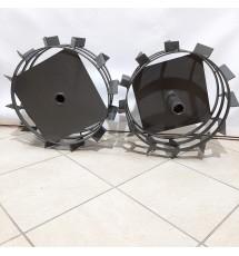 Грунтозацепы Булат КСГ 400-23 400х160 из полосы (с полуосью 23 мм)