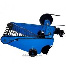 Картофелекопалка КК-11 для мототрактора транспортерная с гидравликой