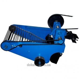 Картофелекопалка вибрационная КК-11 транспортерная под мототрактор с гидравликой