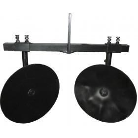 Окучник дисковый ПД-6 Д360 регулируемый (универсальный) сцепка двойная