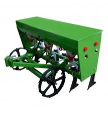 Сеялка мотоблочная СЗ-7Д (семирядная) универсальная  с бункером для удобрения