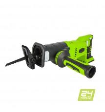 Сабельная пила аккумуляторная Greenworks G24RS