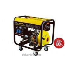 Дизельный генератор Кентавр КДГ-505ЭК (мощность 5,5 кВт, электростартер)