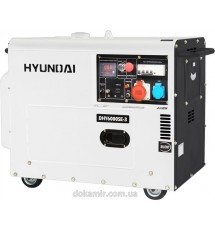 Дизельный генератор Hyundai DHY 6000SE -3