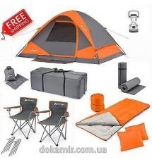 Четырёхместная палатка The Ozark Trail WMT-9752C (22 предмета)
