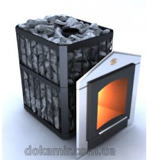 Печь-каменка для саун ПКС-02 ПСЗ (серия Пруток-Панорама)