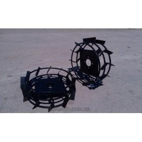 Колеса с грунтозацепами на мотоблок Кентавр 2060-2090  450х150 (квадрат)