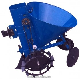 Картофелесажалка мотоблочная Кентавр К-1Ц (синий)