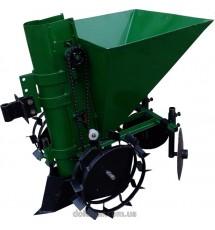 Картофелесажалка мотоблочная Кентавр П-1Ц (зеленый)