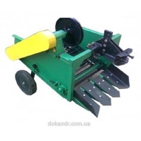 Картофелекопалка для мотоблока Корунд КМТ-1 транспортерного типа