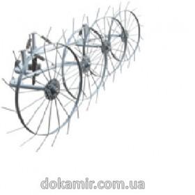 Грабли ворошилки 4-х колесные для мотоблоков