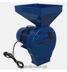 Кормоизмельчитель ДТЗ КР-02  (зерно + почтаки кукурузы, производительсноть 200 кг/ч, 2,5 кВт)