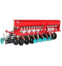 Сеялка зерновая минитракторная СЗ-22Т 22 рядная