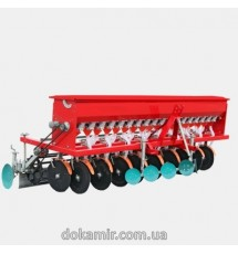 Сеялка зерновая минитракторная СЗ-18Т 18 рядная