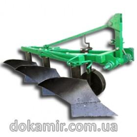 Усиленный трехкорпусный плуг для минитрактора (трактора) ПН 325 У