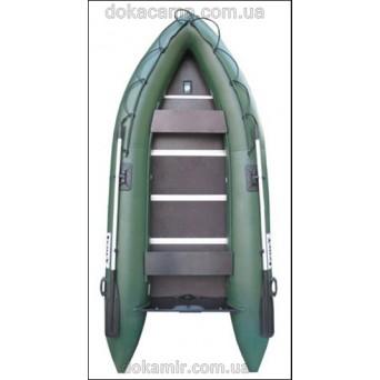 Надувная моторная килевая лодка Elling Барракуда 335К