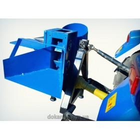 Измельчитель веток и дровокол для минитрактора