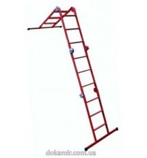 Лестница шарнирная 4х3 Технолог (сталь)