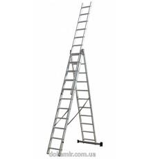 Лестница универсальная 3-х составная Кентавр 3х12