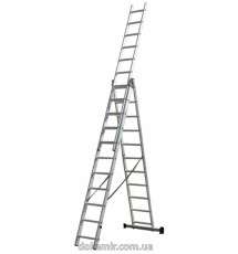 Лестница универсальная 3-х составная Кентавр 3х11