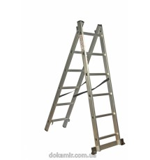 Лестница универсальная 2-х составная Кентавр 2х12