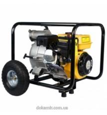 Мотопомпа бензиновая Forte для грязной воды FPTW30, пр-во 45 м3 / ч
