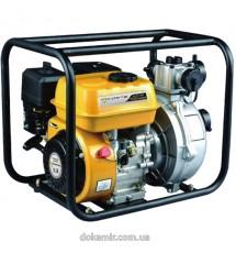 Мотопомпа бензиновая Forte высокого давления FP20HP, пр-во 30 м3 / ч
